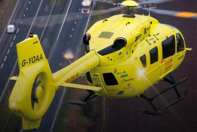 The Great Circle helps support the Yorkshire Air Ambulance!